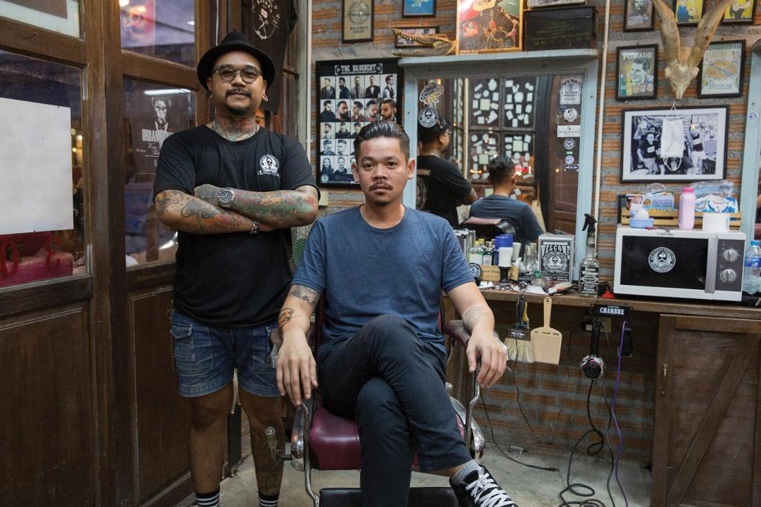 How to your get old school hairstyle...5 เรื่องที่ต้องรู้ก่อนตัดทรง Old School By ช่างแบงค์ แห่งร้าน Silver Cut